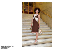Lidia Vitale Photocall The Start Up aprile 2017 Dress New Land Coture Shoes Fragiacomo