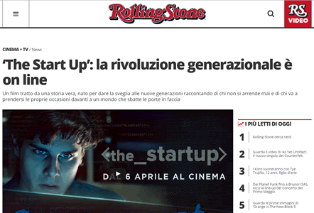 Lidia Vitale The Start Up: la rivoluzione generazionale è on line Rolling Stone